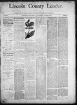 Lincoln County Leader, 11-15-1890 by Lincoln County Publishing Company