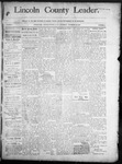 Lincoln County Leader, 11-29-1890 by Lincoln County Publishing Company