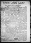 Lincoln County Leader, 12-13-1890 by Lincoln County Publishing Company