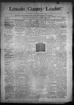 Lincoln County Leader, 04-18-1890 by Lincoln County Publishing Company