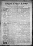 Lincoln County Leader, 06-13-1890 by Lincoln County Publishing Company