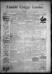 Lincoln County Leader, 07-11-1890 by Lincoln County Publishing Company