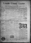 Lincoln County Leader, 10-17-1890 by Lincoln County Publishing Company