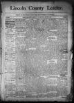 Lincoln County Leader, 01-17-1891 by Lincoln County Publishing Company