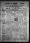 Lincoln County Leader, 04-18-1891 by Lincoln County Publishing Company