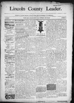 Lincoln County Leader, 05-23-1891 by Lincoln County Publishing Company