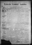 Lincoln County Leader, 06-06-1891 by Lincoln County Publishing Company