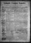 Lincoln County Leader, 06-27-1891 by Lincoln County Publishing Company