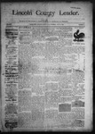 Lincoln County Leader, 07-11-1891 by Lincoln County Publishing Company