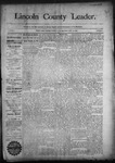 Lincoln County Leader, 09-19-1891 by Lincoln County Publishing Company
