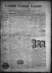 Lincoln County Leader, 10-17-1891 by Lincoln County Publishing Company