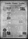 Lincoln County Leader, 02-06-1892 by Lincoln County Publishing Company