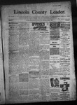 Lincoln County Leader, 06-11-1892 by Lincoln County Publishing Company