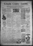 Lincoln County Leader, 10-29-1892 by Lincoln County Publishing Company
