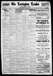 Lovington Leader, 08-18-1916 by Wesley McCallister