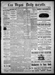 Las Vegas Daily Gazette, 03-31-1886 by J. H. Koogler