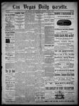 Las Vegas Daily Gazette, 04-03-1886 by J. H. Koogler