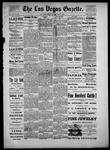 Las Vegas Gazette, 05-07-1886 by Louis Hommel