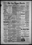 Las Vegas Gazette, 05-14-1886 by Louis Hommel