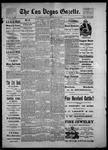 Las Vegas Gazette, 05-15-1886 by Louis Hommel