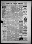Las Vegas Gazette, 05-18-1886 by Louis Hommel