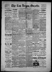 Las Vegas Gazette, 05-23-1886 by Louis Hommel