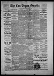 Las Vegas Gazette, 05-27-1886 by Louis Hommel