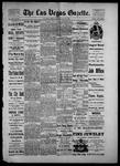Las Vegas Gazette, 05-28-1886 by Louis Hommel