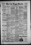 Las Vegas Gazette, 06-02-1886 by Louis Hommel