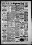 Las Vegas Gazette, 06-04-1886 by Louis Hommel