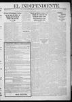 """El independiente (Las Vegas, N.M.), 01-04-1912 by La Cía. Publicista de """"El Independiente"""""""