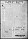 """El independiente (Las Vegas, N.M.), 10-19-1911 by La Cía. Publicista de """"El Independiente"""""""
