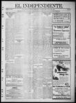 """El independiente (Las Vegas, N.M.), 06-08-1911 by La Cía. Publicista de """"El Independiente"""""""