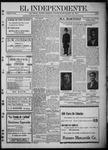 """El independiente (Las Vegas, N.M.), 03-23-1911 by La Cía. Publicista de """"El Independiente"""""""