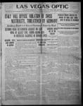 Las Vegas Optic, 09-25-1914 by The Optic Publishing Co.