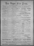 Las Vegas Free Press, 09-13-1892 by J. A. Carruth