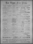 Las Vegas Free Press, 09-14-1892 by J. A. Carruth