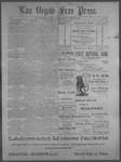 Las Vegas Free Press, 10-25-1892 by J. A. Carruth