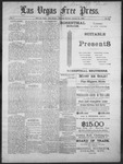Las Vegas Free Press, 01-30-1892