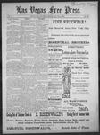 Las Vegas Free Press, 07-08-1892