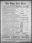Las Vegas Free Press, 07-29-1892 by J. A. Carruth