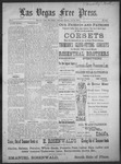 Las Vegas Free Press, 07-30-1892 by J. A. Carruth