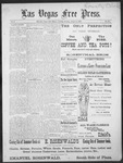 Las Vegas Free Press, 08-09-1892 by J. A. Carruth