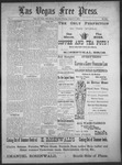 Las Vegas Free Press, 08-11-1892 by J. A. Carruth