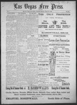 Las Vegas Free Press, 08-20-1892 by J. A. Carruth