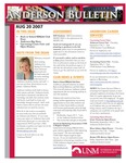 Anderson School of Management weekly bulletin, August 20, 2007. by Anderson School of Management