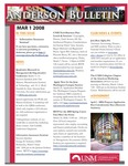 Anderson School of Management weekly bulletin, March 3, 2008.