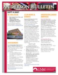 Anderson School of Management weekly bulletin, September 4, 2007.
