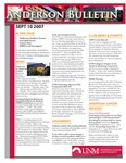 Anderson School of Management weekly bulletin, September 10, 2007.