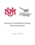 2018 Annual Report by Christopher C. Witt